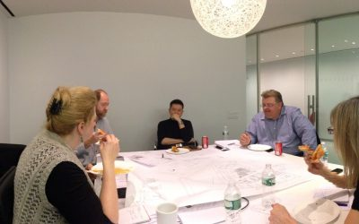 All day work session  with Architects