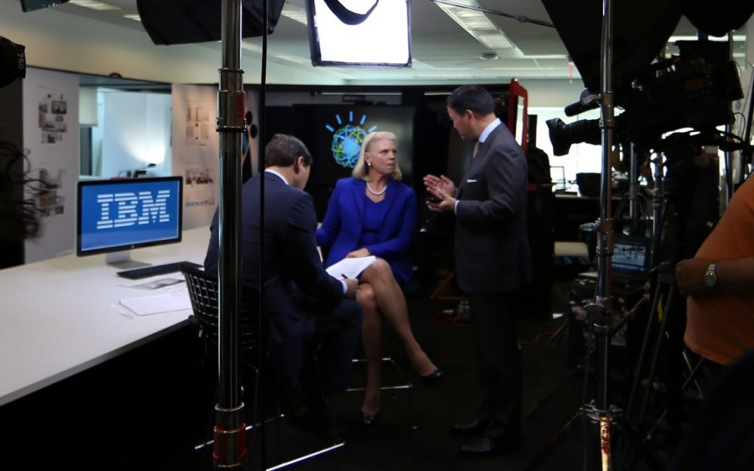 My office on CNBC