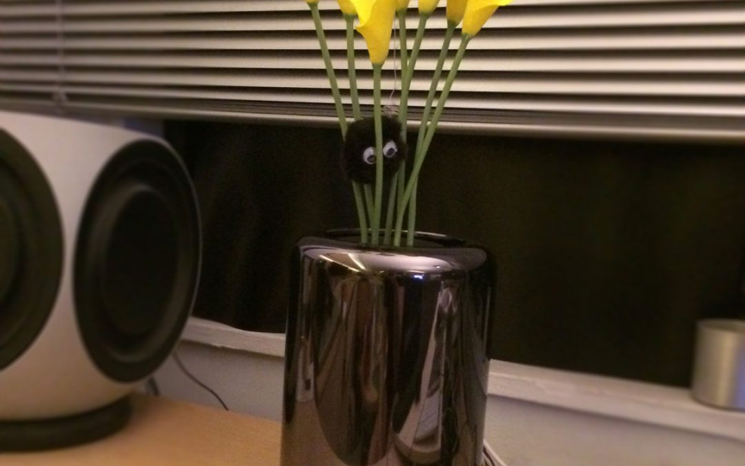 Mac Pro Flower Vase