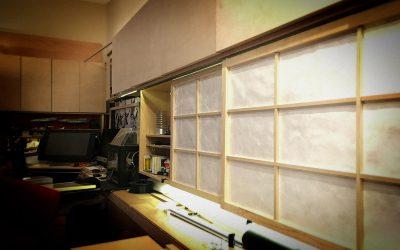 Evening Build: Sliding Shoji cabinet doors